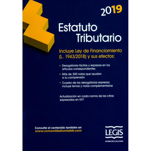 Estatuto tributario 2019